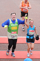 UK: London Marathon 2013