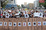 NEWS- People take part of a march for missing children