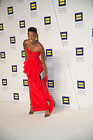 Washington DC,September 10, 2016, USA:  The 20th Annual Human Rights Campaign (HRC) dinner takes place in Washington DC. Speakers and entertainment includes,actor Samira Wiley.  Patsy Lynch/MediaPunch