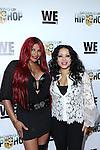 Sandra 'Pepa' Denton and Cheryl 'Salt' James Attend WE TV's Growing Up Hip Hop Premiere Party Held at Haus