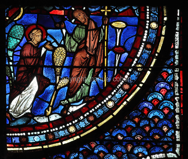 Noli me tangere, Life of Mary Magdalene stained glass ...