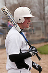 Vale's Brady Sharp is on deck during the second game of a doubleheader between Vale and Nyssa on April 15, 2011.