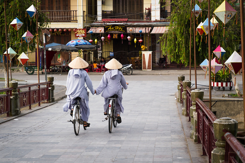Scenes from the old town in Hoi An, Vietnam