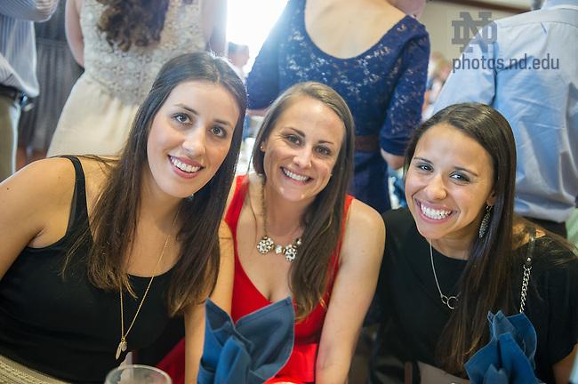 May 30, 2014; Reunion 2014: Class of 2009 Dinner. Photo by Matt Cashore/University of Notre Dame