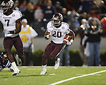 Texas A&M running back Trey Williams (20) in Oxford, Miss. on Saturday, October 6, 2012. Texas A&M won 30-27...