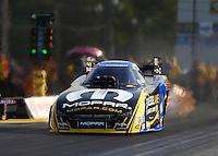 Jun 3, 2016; Epping , NH, USA; NHRA funny car driver Matt Hagan during qualifying for the New England Nationals at New England Dragway. Mandatory Credit: Mark J. Rebilas-USA TODAY Sports