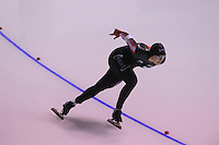 SPEEDSKATING: CALGARY: 14-11-2015, Olympic Oval, ISU World Cup, 1000m B-division, Kaylin Irvine (CAN), ©foto Martin de Jong