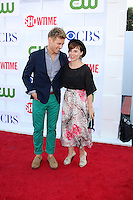 LOS ANGELES - JUL 29:  Barrett Foa, Renée Felice Smith arrives at the CBS, CW, and Showtime 2012 Summer TCA party at Beverly Hilton Hotel Adjacent Parking Lot on July 29, 2012 in Beverly Hills, CA