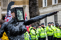 "04.04.2015 - Pegida UK Demo & UAF ""Never Again!"" Counter Demo"
