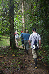 SBSJ Group On Tiputini Walkway