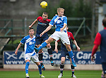 St Johnstone v Turriff Utd FC.. 02.08.16  IRN-BRU CUP 1st Round  <br />Ally McCann and Cammy Bowden<br />Picture by Graeme Hart.<br />Copyright Perthshire Picture Agency<br />Tel: 01738 623350  Mobile: 07990 594431