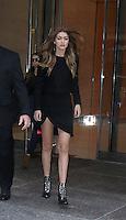 NEW YORK, NY-November 02: Gigi Hadid at Victoria's Secret Office in New York.November 02, 2016. Credit: RW/MediaPunch