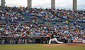 MLB: Masahiro Tanaka of the New York Yankees during Spring Training Game Against Atlanta Braves