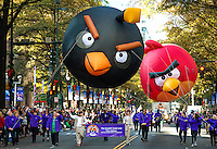 Photography of the Novant Health Thanksgiving Day Parade in Uptown Charlotte, North Carolina. More than 100,000 people came out to watch the 70th annual parade as it made its way up Tryon Street. <br /> <br /> Charlotte Photographer - PatrickSchneiderPhoto.com