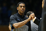 02 November 2013: Duke's Matt Jones. The Duke University Blue Devils played the Drury University Panthers in a men's college basketball exhibition game at Cameron Indoor Stadium in Durham, North Carolina. Duke won the game 81-65.