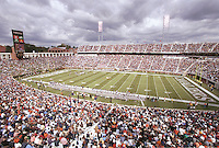 Scott stadium is the home of the Virginia Cavaliers football team in Charlottesville, Va.