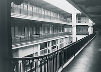 UNDATED..Conservation.Downtown West (A-1-3)....Interior Monticello Arcade...NEG#.NRHA#..