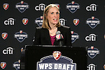 13 January 2012: Jennifer O'Sullivan, WPS Chief Executive Officer. Women's Professional Soccer held the 2012 WPS Draft at the Kansas City Convention Center in Kansas City, MO.