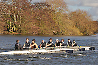 063 .ETN-Strong .NOV.8+ .Eton Coll . Wallingford Head of the River. Sunday 27 November 2011. 4250 metres upstream on the Thames from Moulsford railway bridge to Oxford Universitiy's Fleming Boathouse in Wallingford. Event run by Wallingford Rowing Club..