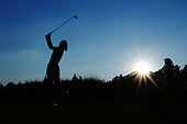 August 21, 2004; Dublin, OH, USA;  14 year old amateur Michelle Wie tees off at the 8th hole during the 3rd round of the Wendy's Championship for Children golf tournament held at Tartan Fields Golf Club.  <br />Mandatory Credit: Photo by Darrell Miho <br />&copy; Copyright Darrell Miho