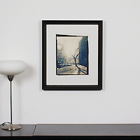 "D'Amore: ""Budapest Tree"", Digital Print, Image Dims. 12.25"" x 9.5"", Framed Dims. 21.25"" x 17.5"""