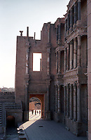 Libia  Sabratha .Citt&agrave;  romana a circa 67km da Tripoli.Teatro Romano.<br /> Sabratha Libya.Roman city about 67km from Tripoli.Roman Theatre