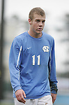 UNC's Ben Hunter on Sunday, November 27th, 2005 at Fetzer Field in Chapel Hill, North Carolina. The University of North Carolina Tarheels defeated the University of Virginia Cavaliers 2-1 in a NCAA Men's Soccer Tournament Round of 16 game.