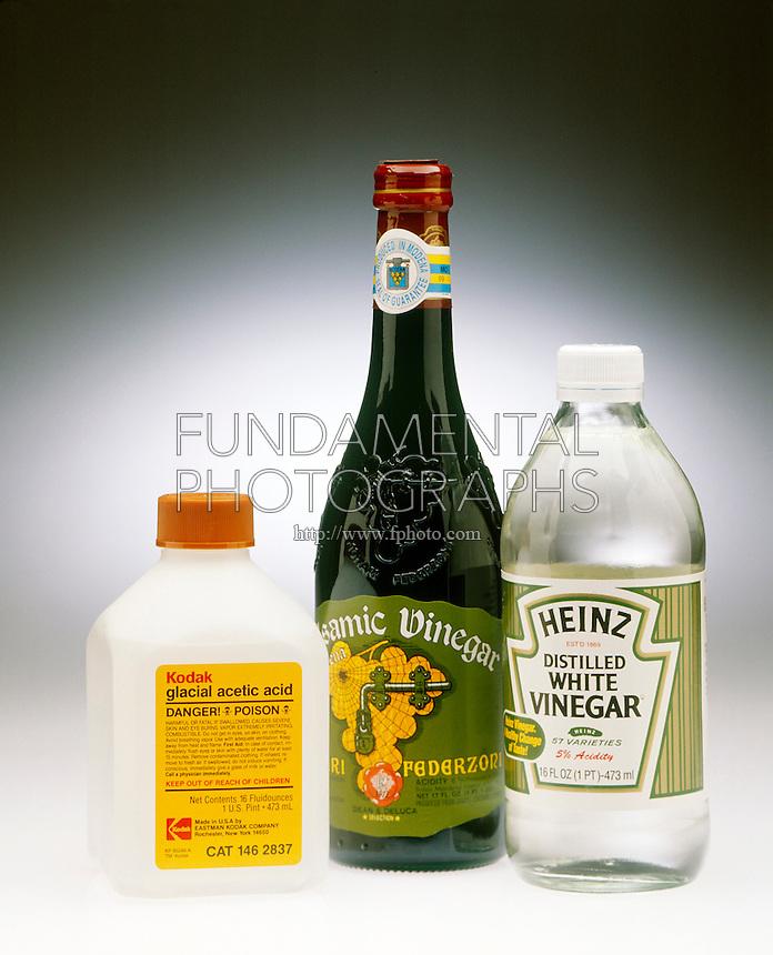 ACETIC ACID &amp; HOUSEHOLD VINEGAR<br /> Glacial Acetic Acid, Balsamic &amp; White Vinegar<br /> Acetic acid is a familiar laboratory weak acid. It is also the active ingredient in vinegar.
