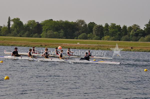 Wallingford Rowing Club Regatta 2011. Dorney..(J15A.4+).Bryanston School (308).Sir William Borlase School (309)