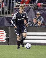 New England Revolution defender Seth Sinovic (27).  The Colorado Rapids defeated the New England Revolution, 2-1, at Gillette Stadium on April 24.2010