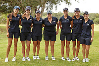 SAN ANTONIO, TX - OCTOBER 29, 2013: The UTSA Alamo Invitational Golf Tournament hosted by the University of Texas at San Antonio Roadrunners Women's Golf Team at the Briggs Ranch Golf Club. (Photo by Jeff Huehn)
