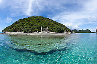 Old Customs House, Whistling Cay.Virgin Islands