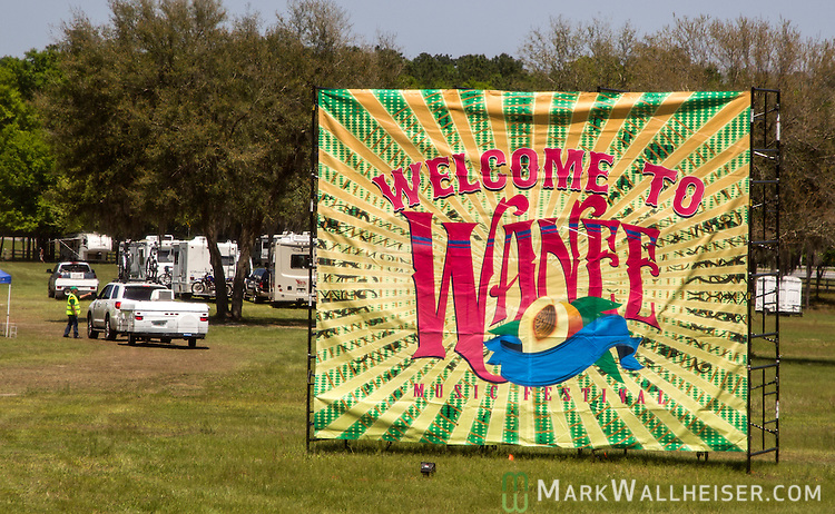 Thursday at the Wanee Festival at the Spirit of the Swanee campground in Live Oak, Florida  April 10, 2014.