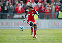 02 April 2011: Toronto FC forward Javier Martina #33 in action during an MLS game between Chivas USA and the Toronto FC at BMO Field in Toronto, Ontario Canada..The game ended in a 1-1 draw.