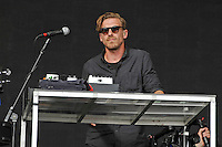 LONDON, ENGLAND - JULY 16: Pontus Winnberg of 'Mike Snow' performing at Lovebox, Victoria Park on July 16, 2016 in London, England.<br /> CAP/MAR<br /> &copy;MAR/Capital Pictures /MediaPunch ***NORTH AND SOUTH AMERICAS ONLY***
