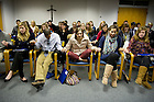 January 15, 2012; The University of Notre Dame Folk Choir held a concert for the Monastic and local community during their 2012 retreat at The Abbey of Gethsemani, Trappist, Kentucky. Photo by Barbara Johnston/University of Notre Dame
