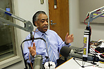 Rev. Al Sharpton at his Radio Station in New York City on May 11, 2010 in New York City