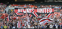 DC United fans. The Colorado Rapids defeated DC United 1-0 at RFK Stadium, Saturday May 15, 2010.