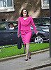 Downing Street after meetings at The House of Commons to appoint new government ministers<br /> 11th May 2015 <br /> <br /> new cabinet ministers arriving or leaving 10 Downing Street <br /> <br /> Theresa Villiers remains as Secretary of State for Northern Ireland<br /> <br /> Photograph by Elliott Franks <br /> Image licensed to Elliott Franks Photography Services