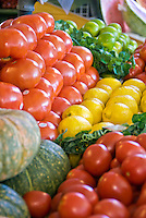 Farmers Market, Produce, Fruit Stand, Los Angeles CA, Mid Wilshire,