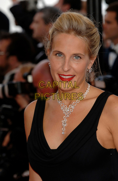 """ALYONA SIDORENKO.""""Over The Hedge"""" premiere.59th International Cannes Film Festival, France.21st May 2006.Ref: PL.headshot portrait necklace red lipstick.www.capitalpictures.com.sales@capitalpictures.com.©Phil Loftus/Capital Pictures"""