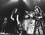 Black Sabbath 1984 with Ian Gillan.© Chris Walter.