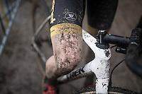post-race legs<br /> <br /> elite men's race<br /> Krawatencross Lille 2017