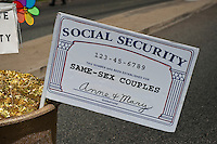 Same- Sex Couples Social Security Card, LA Pride 2010 West Hollywood, CA Parade