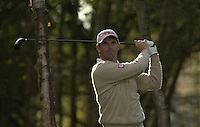 Photo Peter Spurrier.18/10/2002 Fri.CISCO World Matchplay Championships - Wentworth.Padriag Harrington drives offthe 13th tee...[Mandatory Credit Peter Spurrier/ Intersport Images]