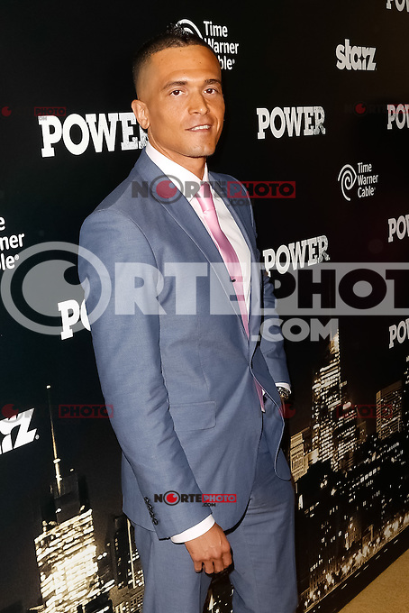 New York, NY -  June 2 : Actor Vinicius Machado attends the Power Premiere held at the Highline Ballroom on June 2, 2014 in New York City. Photo by Brent N. Clarke / Starlitepics