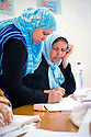 TUNISIA, TUNIS: At AID NGO in Ettadhamen, a poorer area of Tunis, women get an 8 months education in cooking and baking and also reading, writing, maths and information of work rights and human rights. Afterwards they have to pass an exam and get a certification that enables them to work and earn their own money.