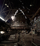 One of two blast furnaces in Rankin, Pennsylvania.  Once used to smelt iron for steel production, the Carrie Furnaces were recently granted National Landmark status and are slated to be preserved and included in a National Park dedicated to Pittsburgh's famed steel industry. October 30, 2008