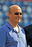 15 March 2009: Washington Nationals' President and Acting General Manager Stan Kasten watches batting practice prior to a Spring Training game against the Detroit Tigers at Space Coast Stadium in Viera, Florida. The Tigers shut out the Nationals 3-0 in the Grapefruit League matchup. Mandatory Photo Credit: Ed Wolfstein Photo