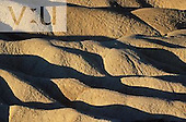 Soil erosion, Mojave Desert. Death Valley National Park, Californa